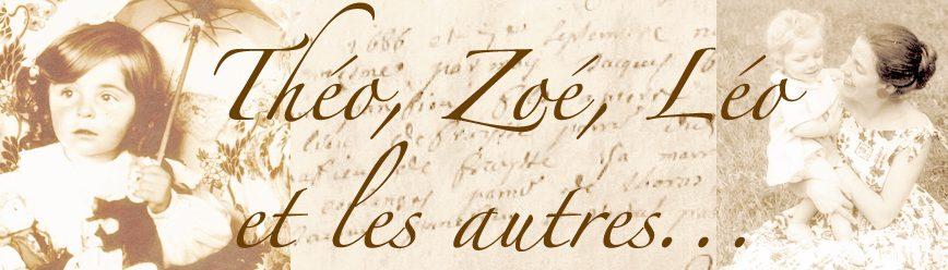 Théo, Zoé, Léo et les autres…
