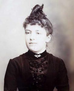 portrait femme 1900