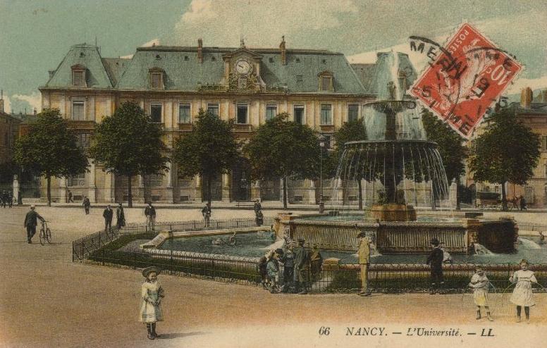L'université de Nancy , 1900