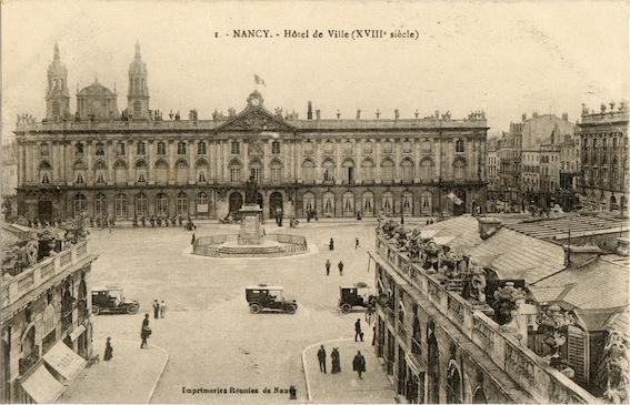 Mairie, Hotel de ville, Nancy 1900